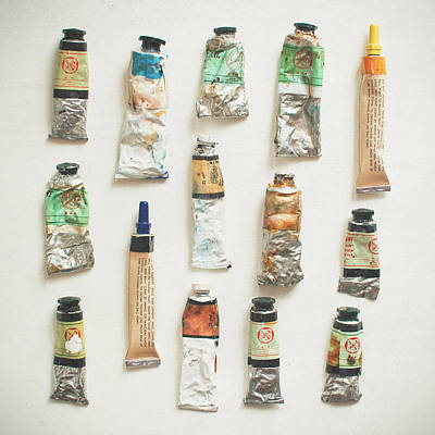 Photograph - Oils by Cassia Beck