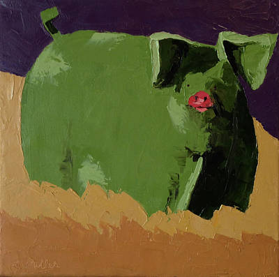 Painting - Oink by Sylvia Miller