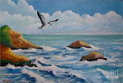 Oiseau Solitaire Art Print