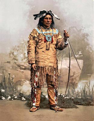 Indian Tribal Art Digital Art - Ojibwas Aleck Waunosa 1903 by Unknown