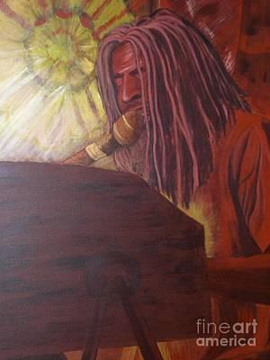 Jamaican Painting - Ojuleba by Suzi Gessert
