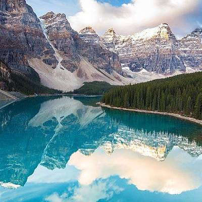 Colourful Wall Art - Photograph - Moraine Lake Reflections by Tiffany Wuest