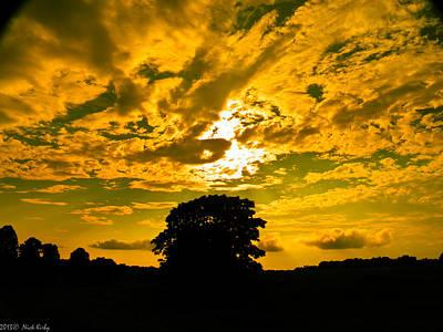 Photograph - Ok Cloud by Nick Kirby