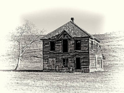 Okanogan Homestead - Washington Art Print by Daniel Hagerman