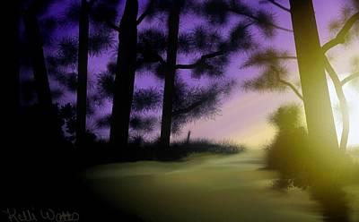 Okefenokee Swamp Sunrise Original