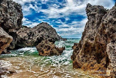 Photograph - Okinawa Coast by Christopher Holmes