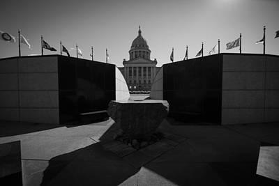 Photograph - Oklahoma Capital by Nathan Hillis