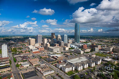 Oklahoma City Print by Cooper Ross