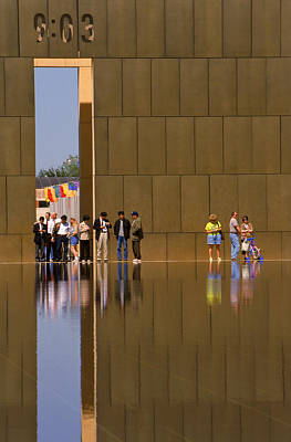 Oklahoma City Memorial Art Print