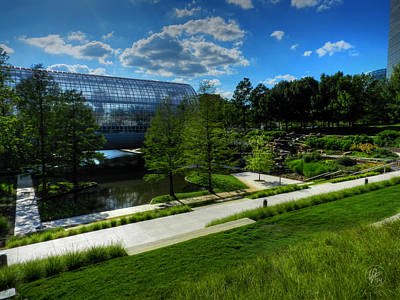 Okc Photograph - Oklahoma City - Myriad Botanical Gardens 001 by Lance Vaughn