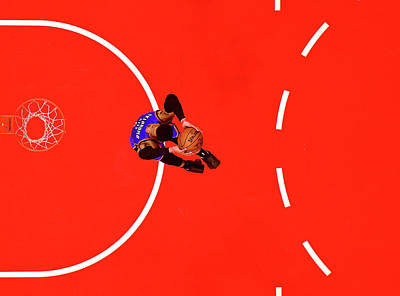 Photograph - Oklahoma City Thunder V Los Angeles by Harry How