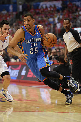 Photograph - Oklahoma City Thunder V Los Angeles by Noah Graham