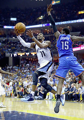 Photograph - Oklahoma City Thunder V Memphis by Andy Lyons