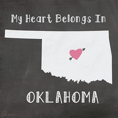 Oklahoma Painting - Oklahoma by Jo Moulton