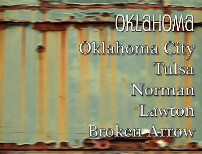 Oklahoma Digital Art - Oklahoma by Marvin Blaine