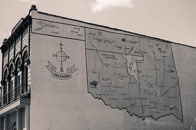 Photograph - Oklahoma Mural by Nathan Hillis