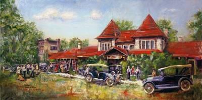 Arkansas Painting - Oklahoma Row by Vicki Ross
