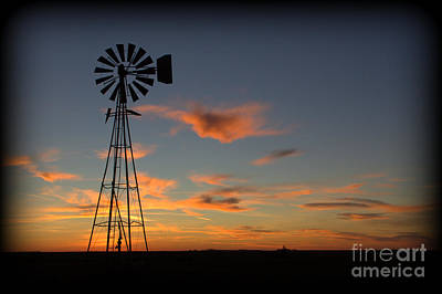 Oklahoma Skies 1 Art Print by Jim McCain