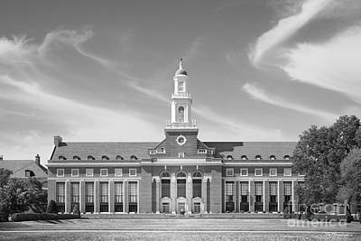 Photograph - Oklahoma State University Edmon Low Library by University Icons