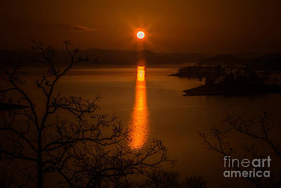 Photograph - Oklahoma Sunrise by Kim Henderson