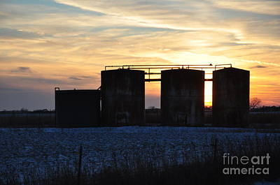 Photograph - Oklahoma Sunset by Anjanette Douglas