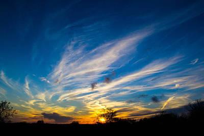 Photograph - Oklahoma Sunset by Nathan Hillis
