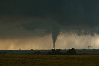 Photograph - Oklahoma Tornado by Brandon  Ivey