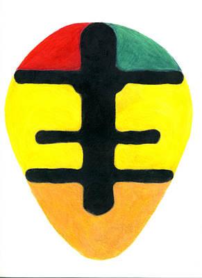Okodee Mmowere Sheild Print by Greg Roberson