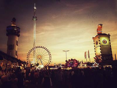 Photograph - Oktoberfest 2013 - Alternative View by Alexander Hassenstein