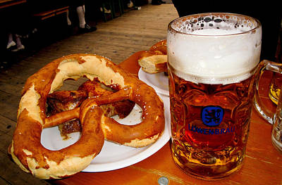 Photograph - Oktoberfest Delicacies by Robert Meyers-Lussier
