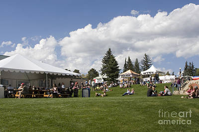 Steven Krull Royalty-Free and Rights-Managed Images - Oktoberfest Woodland Park 2014 by Steven Krull