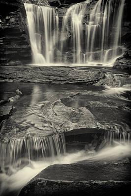 Ol' Black Water-sepia Art Print by Mike Lang