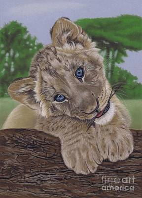 Pastel - Ol' Blue Eyes by Karie-Ann Cooper