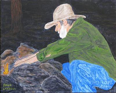 Painting - Ol Jim - Ready For The Bedroll by Dana Carroll