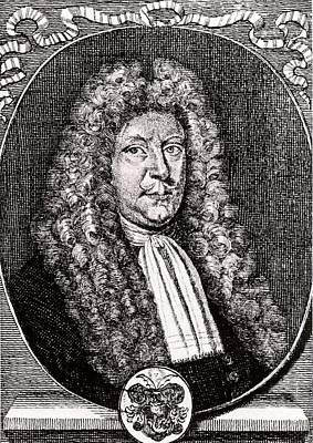1690 Photograph - Olaus Borrichius by Universal History Archive/uig