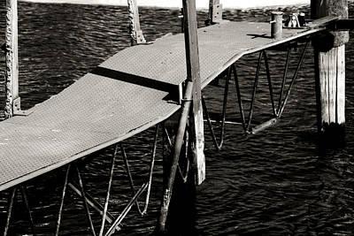 Cottage Photograph - Olcott Dock by Heather Allen