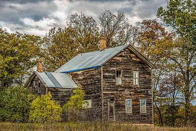 Haunted Home Photograph - Old Abandoned House by Paul Freidlund