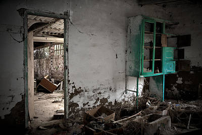 Old Abandoned Kitchen Art Print by RicardMN Photography
