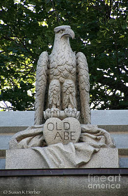 Photograph - Old Abe by Susan Herber