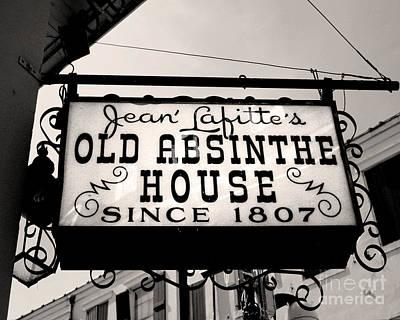 Old Absinthe House Art Print by Jillian Audrey Photography