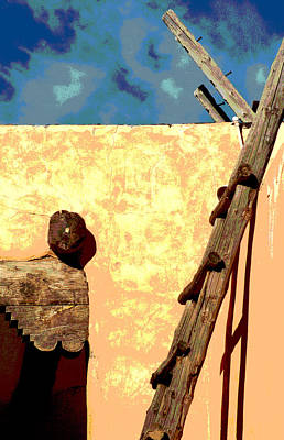 Art Print featuring the photograph Old Adobe by Mary Bedy
