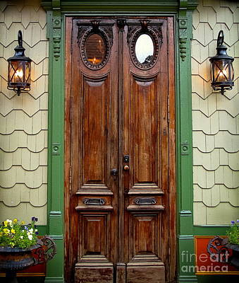 Photograph - Old African Doors by Colleen Kammerer