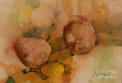 Painting - Old-aged Pears by Donna Acheson-Juillet