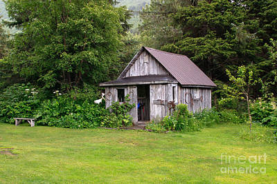 Photograph - Old Alaskan Building  by Richard Smith