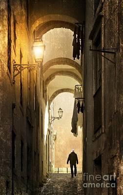 Old Alley Art Print