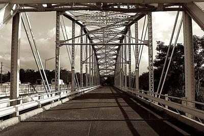 Photograph - Old Anasco Iron Bridge by Ricardo J Ruiz de Porras