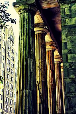 Photograph - Old And New In Philly  by Beth Akerman