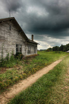 Photograph - Old And Rural by Ben Shields