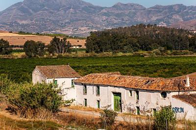 Old Andalusian Farm House. Spain Art Print by Jenny Rainbow
