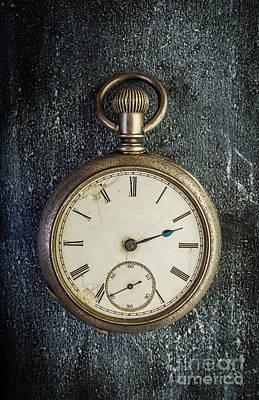 Old Antique Pocket Watch Art Print by Edward Fielding